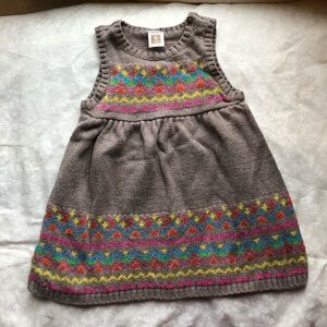 Kids overall sweater dress